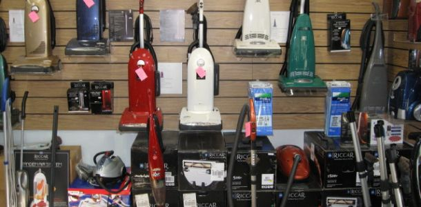 the all make vacuum service showroom